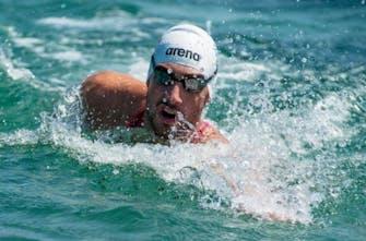 Εκπληκτικός ο Κυνηγάκης κατέκτησε την 5η θέση στο Μαραθώνιο κολύμβησης