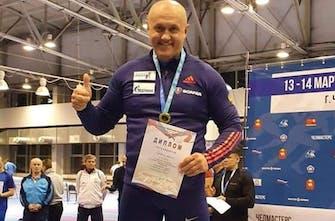 «Χρυσός» ο αθλητής του Σ.Δ.Υ. Μεγαλόνησος, Ανατόλι Ντουμπόβκιν στη Ρωσία