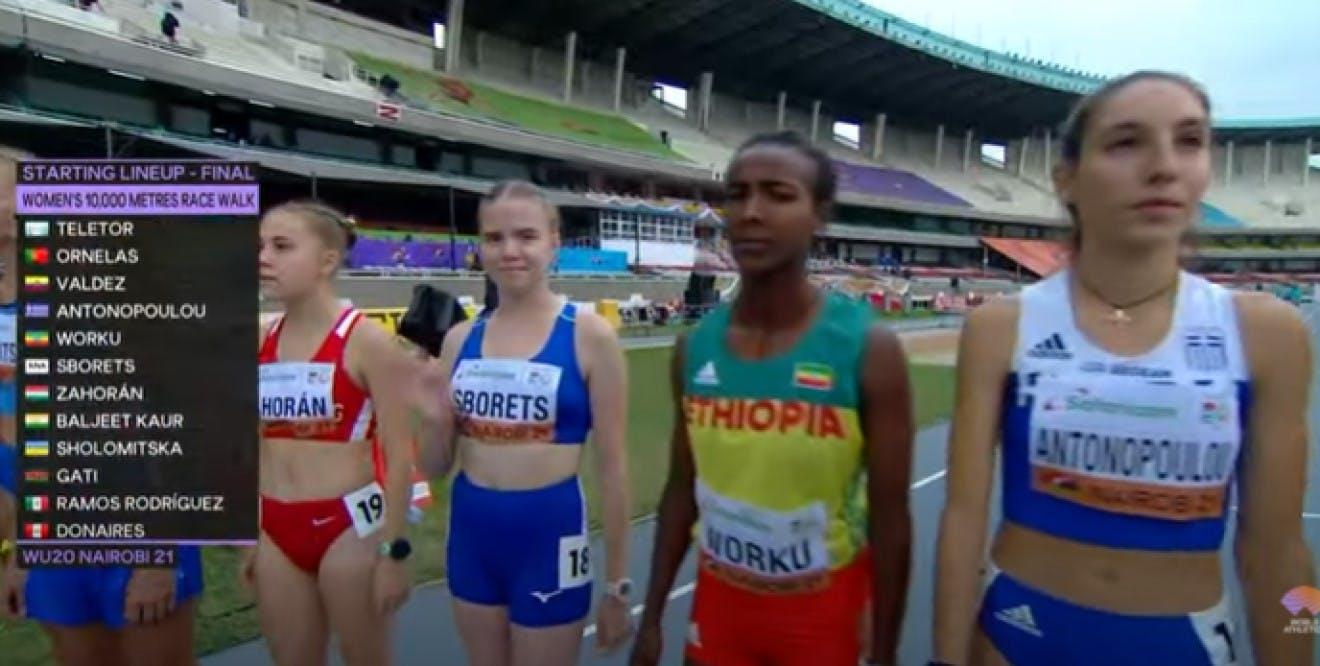 Παγκόσμιο Κ20: Ένατη με ατομικό ρεκόρ η Αντωνοπούλου στα 10χλμβάδην