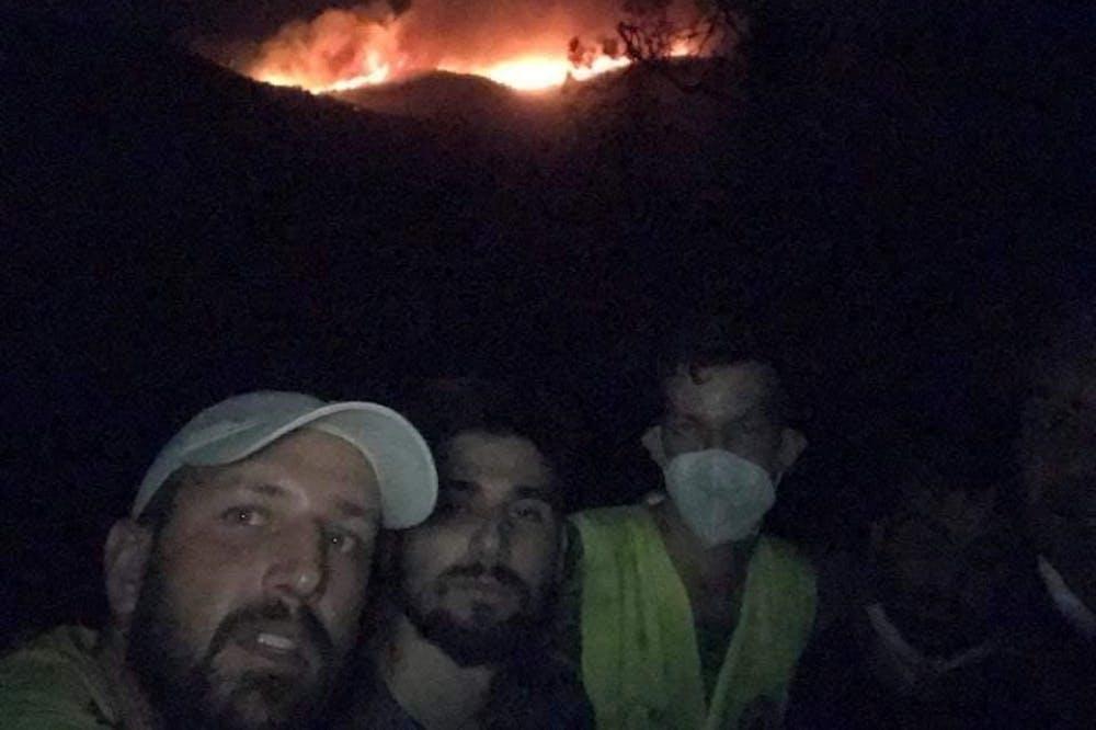 Άγγελος Βασιλείου: Έτσι δώσαμε τη μάχη με τις φλόγες για τέσσερα μερόνυχτα (Pics & Vid)
