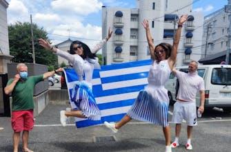 Σε… ρυθμούς τελετής έναρξης οι Έλληνες αθλητές στο Μισάτο (Pics)