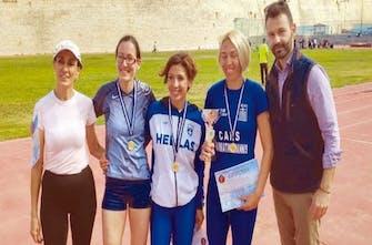 Με υψηλούς στόχους στο Βαλκανικό βετεράνων στίβου οι Έλληνες αθλητές και αθλήτριες