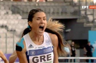 Φοβερή κούρσα η Γναφάκη με ατομικό ρεκόρ στα 400μ. εμπ.