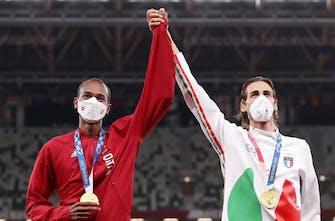 Μοιράστηκαν την πρώτη θέση και το χρυσό μετάλλιο Barshim και Tamberi
