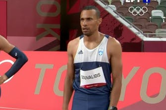 Καλή εμφάνιση αλλά εκτός ημιτελικών ο Δουβαλίδης στα 110μ. με εμπόδια