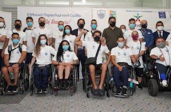Πέταξε για το Τόκιο το πρώτο γκρουπ των Ελλήνων αθλητών-τριών για την Παραολυμπιάδα
