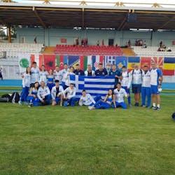 Εξαιρετική παρουσία της Ελλάδας στο Βαλκανικό πρωτάθλημα Κ20