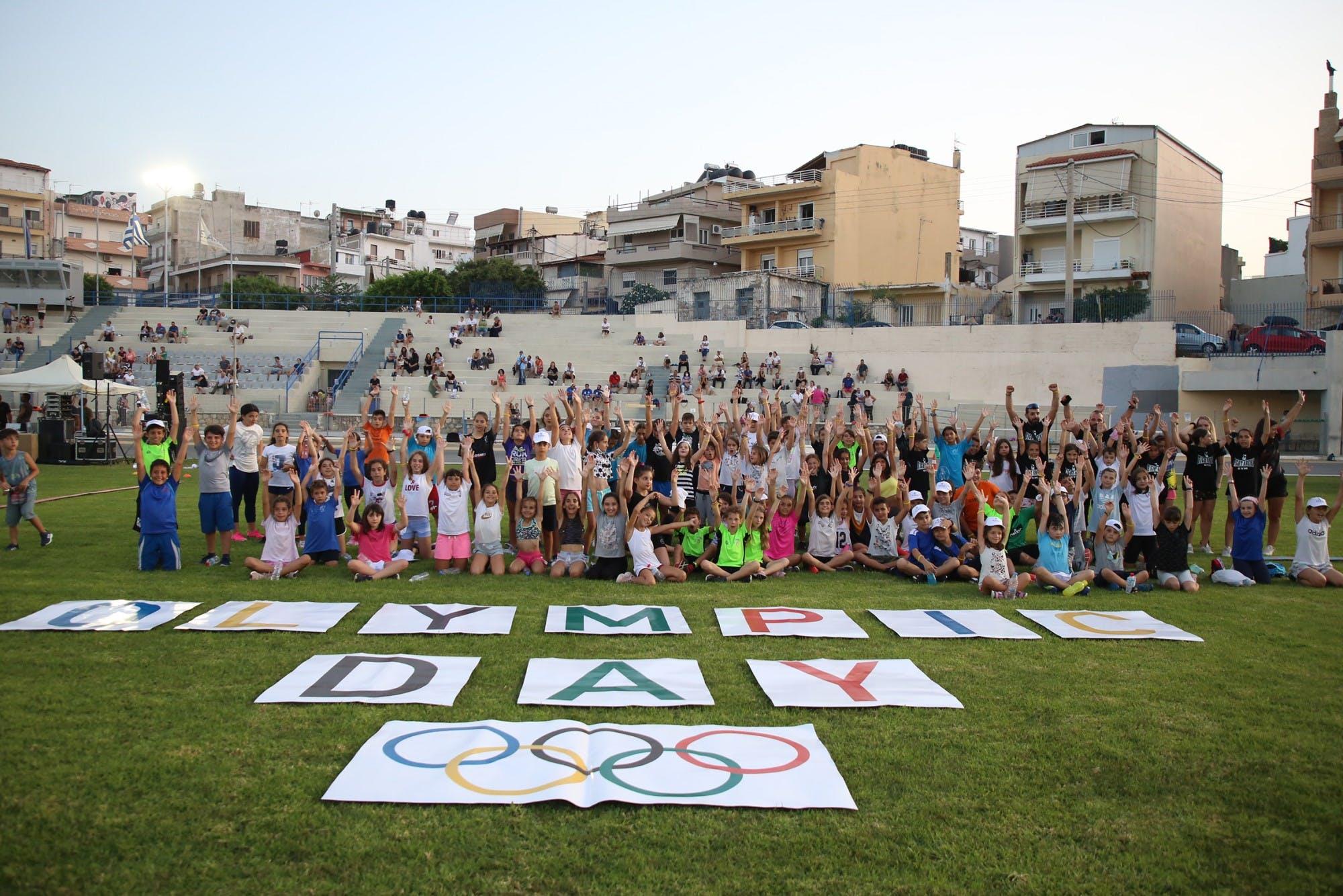 Φαντασμαγορική γιορτή στο Στάδιο Ελευθερίας για την Παγκόσμια Ολυμπιακή Ημέρα