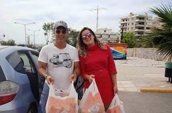 Ολοκληρώθηκε η δράση συλλογής τροφίμων για τους σεισμοπαθείς της Θεσσαλίας