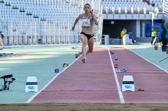 Μεγάλος αγώνας στο μήκος με νικήτρια στο τελευταίο άλμα την Κολοκυθά, 2η η Παπαχρήστου