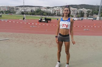 Πανελλήνιο ρεκόρ από την Καλλιμογιάννη στα 2.000μ. στιπλ