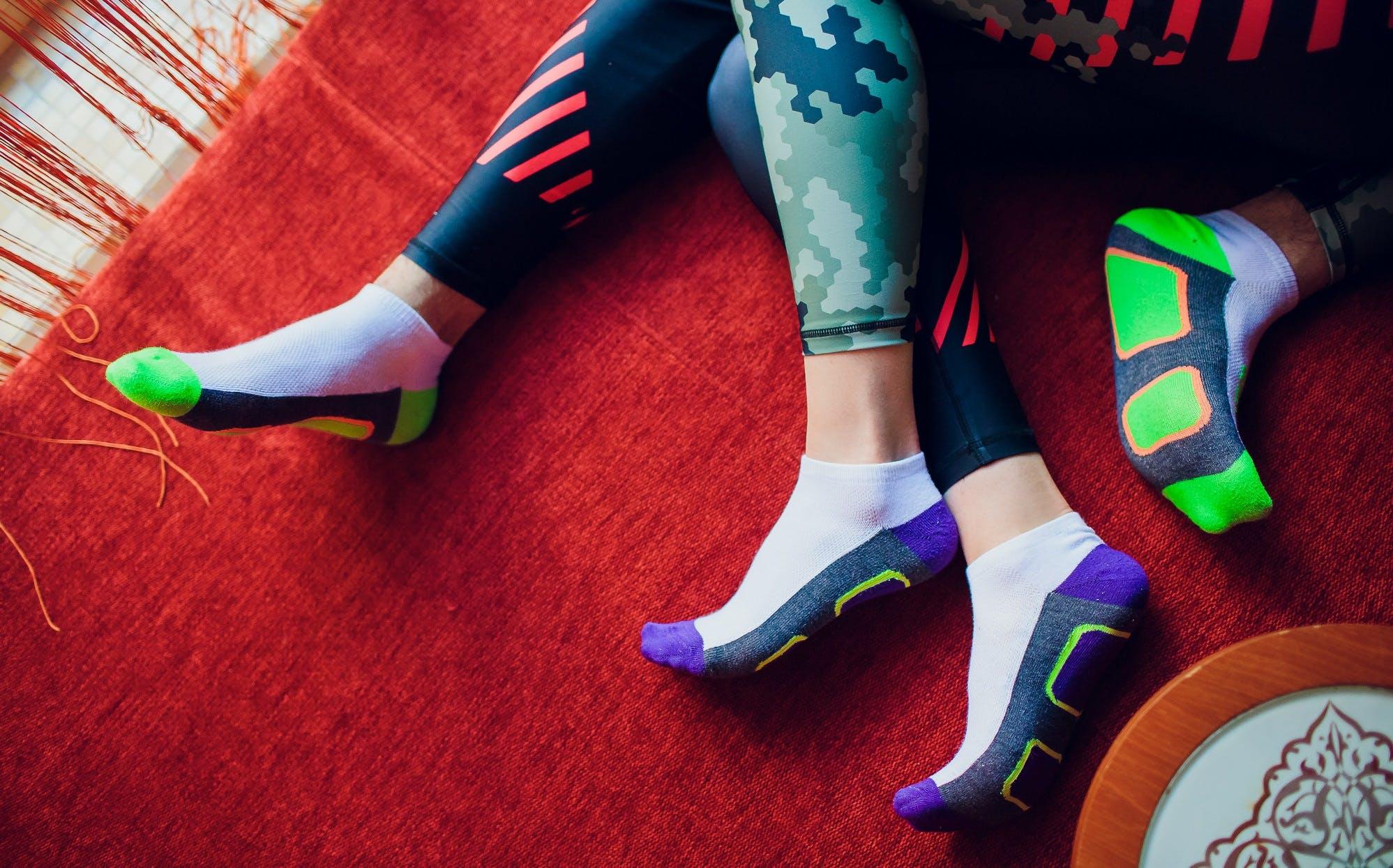 Αθλητικές κάλτσες: Το ίδιο σημαντικές με τα αθλητικά μας παπούτσια