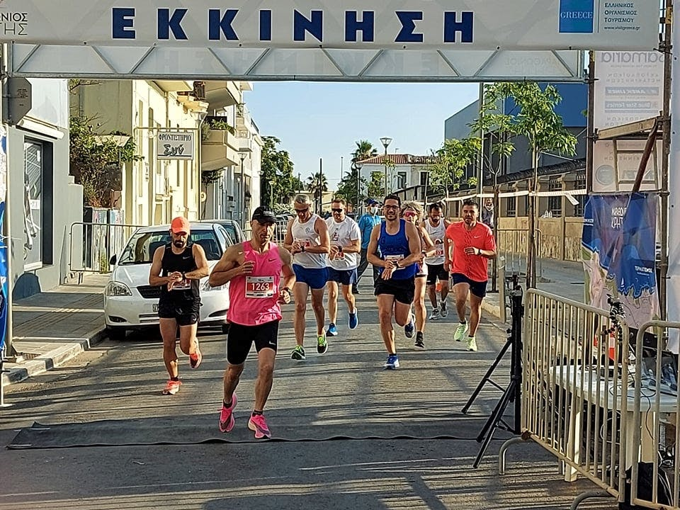 Mε μεγάλη επιτυχία ολοκληρώθηκε ο Μαραθώνιος Κρήτης στα Χανιά
