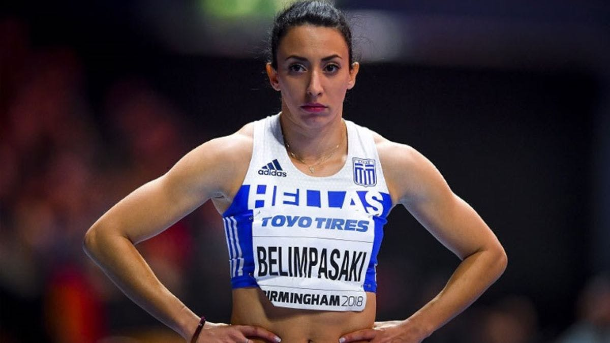 Δεν θα κατέβει σε αγώνες η Μαρία Μπελιμπασάκη