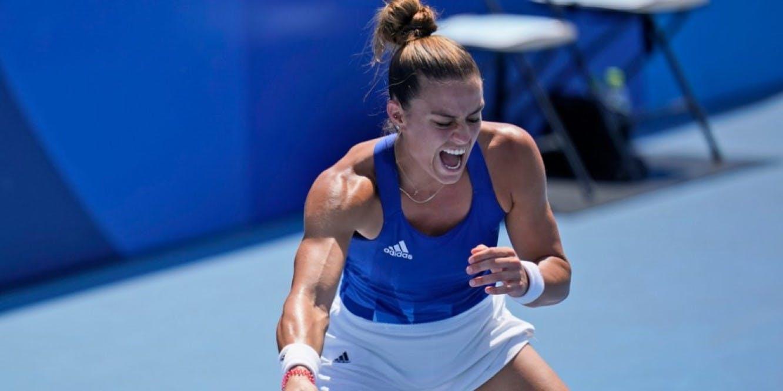Άνετα στους «16» του τουρνουά τένις η Μαρία Σάκκαρη