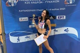 Χρυσό μετάλλιο για τη Νικολέτα Ραφαϊλάκη στο Πανελλήνιο Πρωτάθλημα Κ20 στα 3000μ. στιπλ!