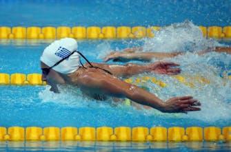 Πανελλήνιο ρεκόρ από την Ντουντουνάκη, όμως έμεινε εκτός τελικού στα 100μ. πεταλούδας