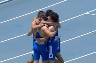 Παγκόσμιο Κ20: Έκτη με νέο Πανελλήνιο ρεκόρ η Εθνική 4Χ100