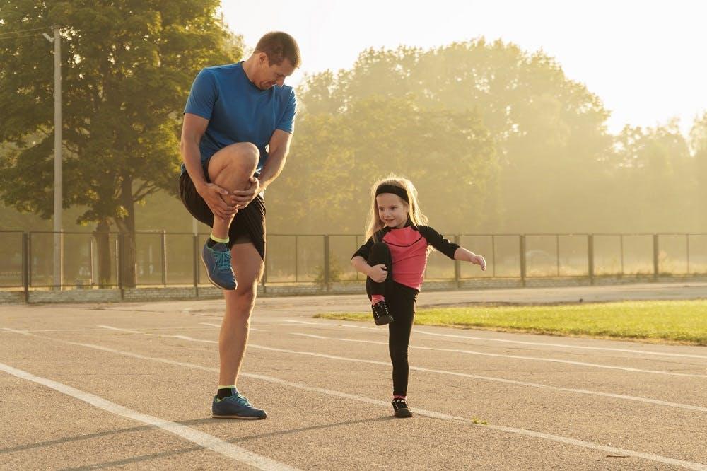 Από μικροί… στο τρέξιμο