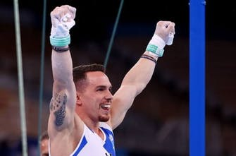 «Χάλκινος» Ολυμπιονίκης στους κρίκους ο Πετρούνιας