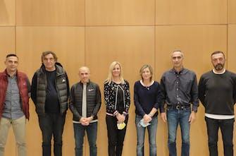Έπιασαν δουλειά οι επιτελικοί τεχνικοί της Ομοσπονδίας -Συνάντηση με την Σοφία Σακοράφα