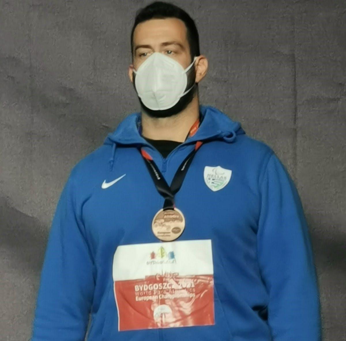 Τρία τα μετάλλια της Ελλάδας ως τώρα στο Ευρωπαϊκό πρωτάθλημα στίβου ΑμεΑ