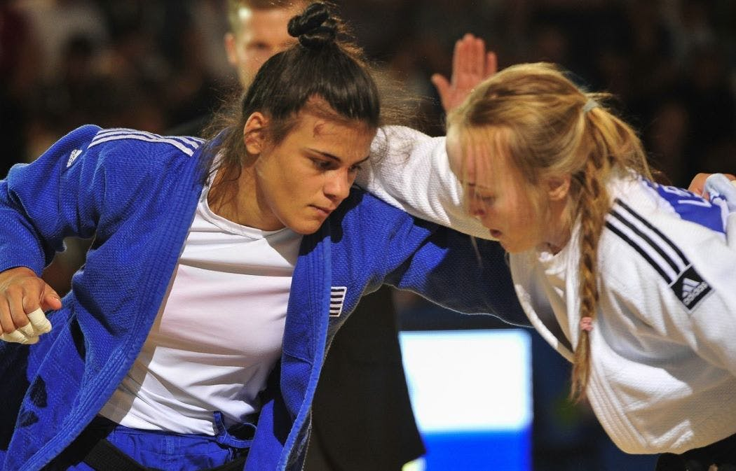 Εντυπωσιακά στα προημιτελικά η Τελτσίδου έβγαλε εκτός την Πρωταθλήτρια Ευρώπης Πινό