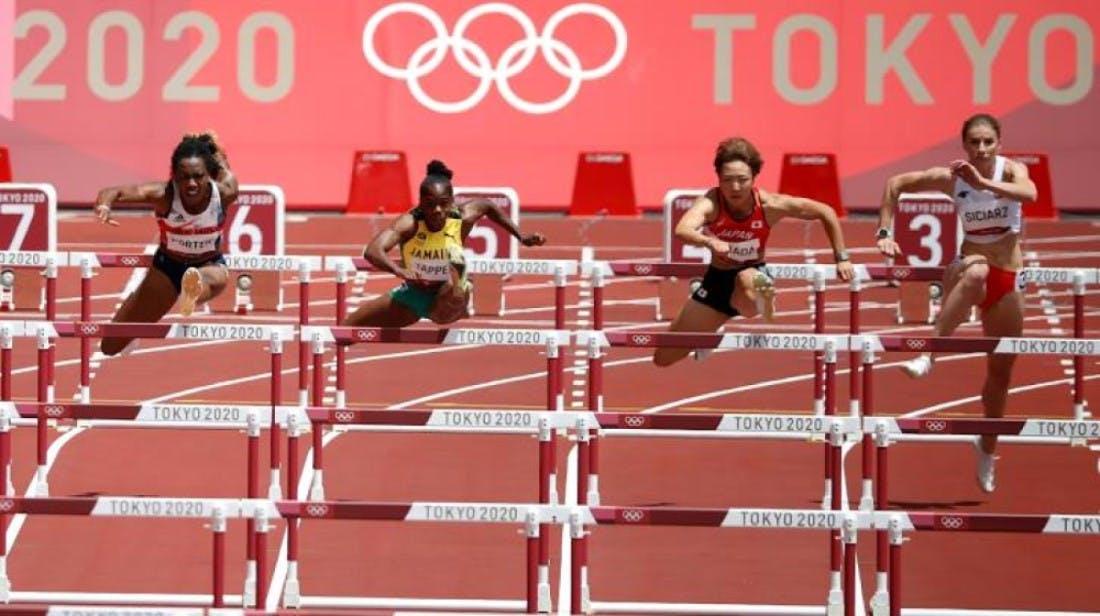Ολυμπιακό ρεκόρ η Jasmine Camacho-Quinn στα ημιτελικά των 100μ. εμπ.