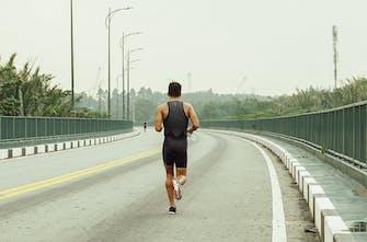 Γρήγορο τρέξιμο μετά το ποδήλατο