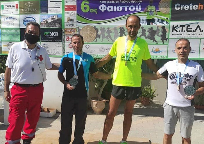 Νικητές Σηφάκης και Πρωτογεράκη στον 6th Faistos Run (pics)
