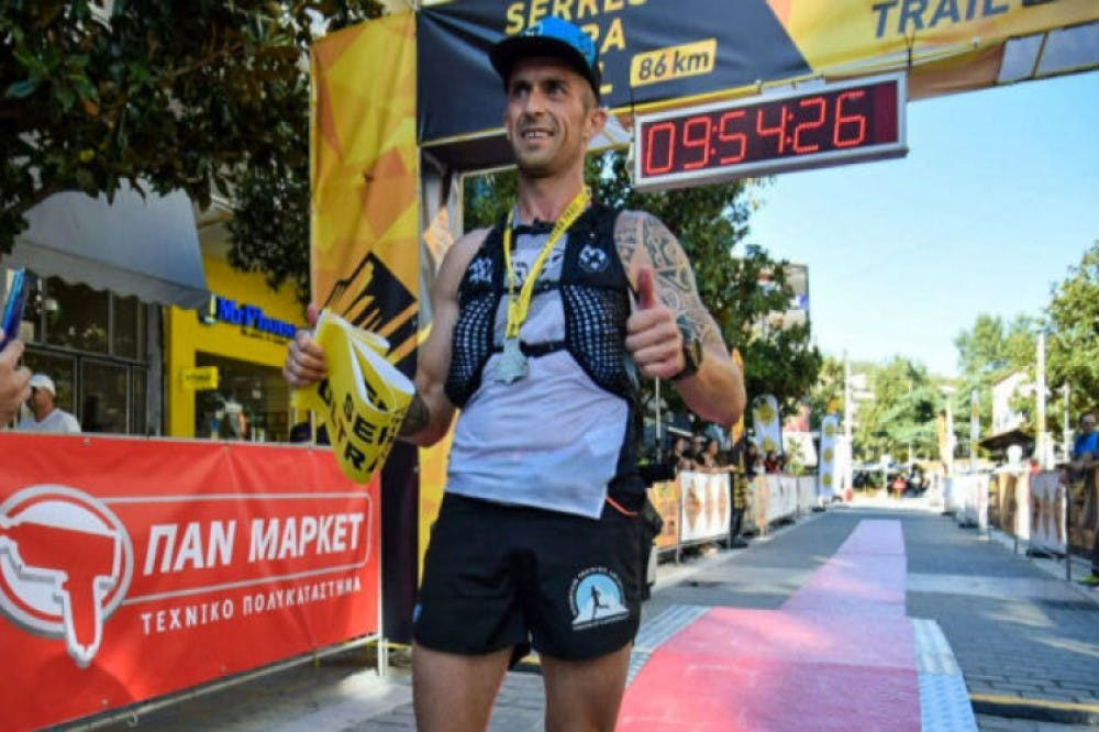 Μεγάλος νικητής ο Μπούκης στο Serres Ultra Trail 2021 (vid)