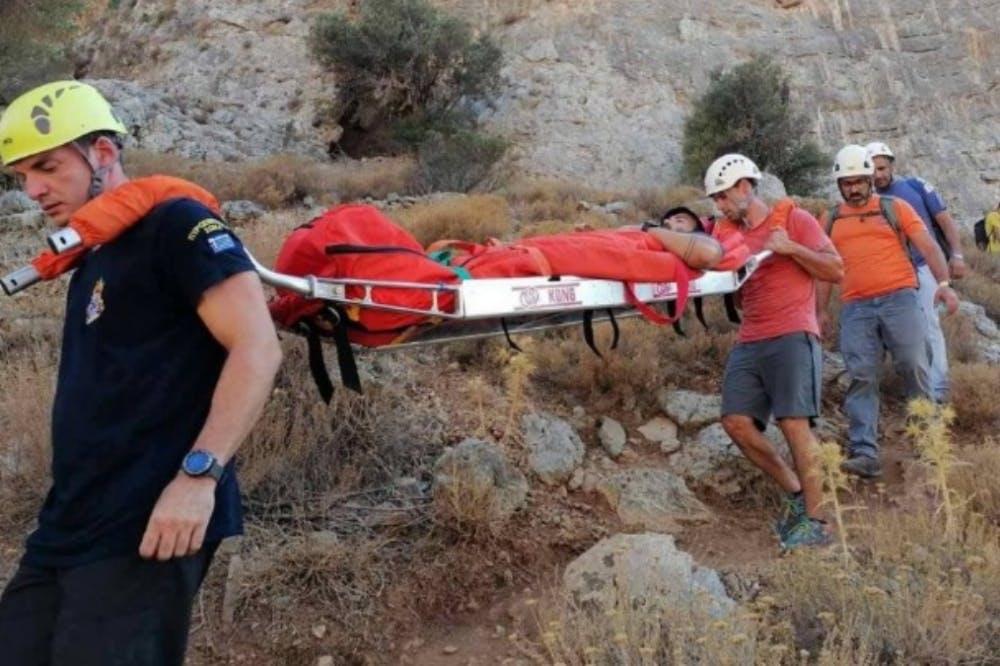 Επιχείρηση διάσωσης 24χρονου αναρριχητή στην Κάλυμνο