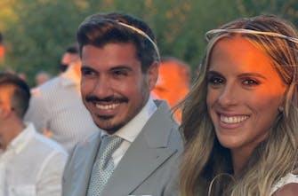 Παντρεύτηκε η Ειρήνη Βασιλείου με τον αγαπημένο της Αναστάση Βλατάκη! (Photos)