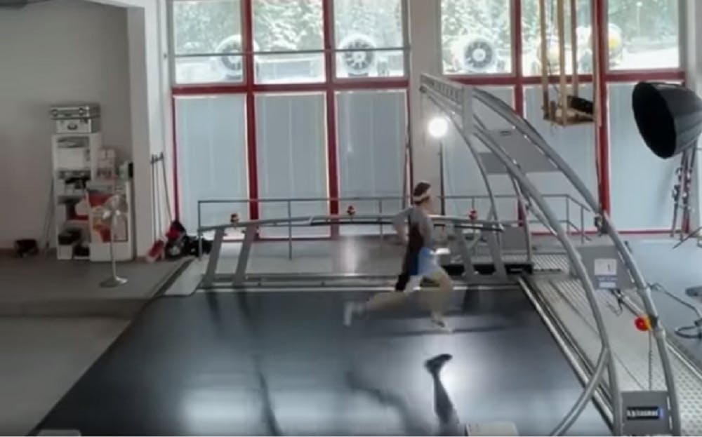 Προπόνηση στον μεγαλύτερο διάδρομο του κόσμου (Vid)