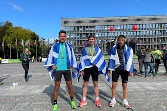 IRONMAN 70.3 Greece Costa Navarino: Μεγάλες νίκες για Menant και Μπουλμέτη!