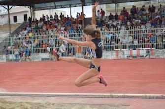 Στη 2η θέση όλων των εποχών U16 στο μήκος η 15χρονη Ευγενία Σχίζα με άλμα στα 6 μέτρα