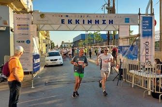 Μαραθώνιος Κρήτης: Νικητής ο Κωστάκης στα 10 χιλιόμετρα ανδρών
