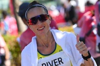 44χρονη τερμάτισε στην 10η θέση στον μαραθώνιο των Ολυμπιακών Αγώνων!