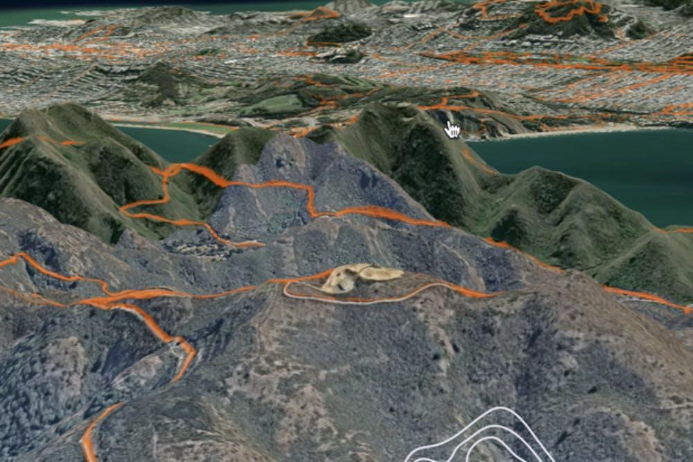 Εφαρμογή για τρέξιμο ενσωματώνει 3D χάρτη
