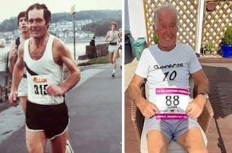 Allan Smith: Ο 88χρονος δρομέας που έχει στόχο τους 200 αγώνες!