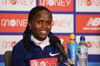 Kosgei: «Είμαι έτοιμη να υπερασπιστώ τον τίτλο μου στο Λονδίνο»