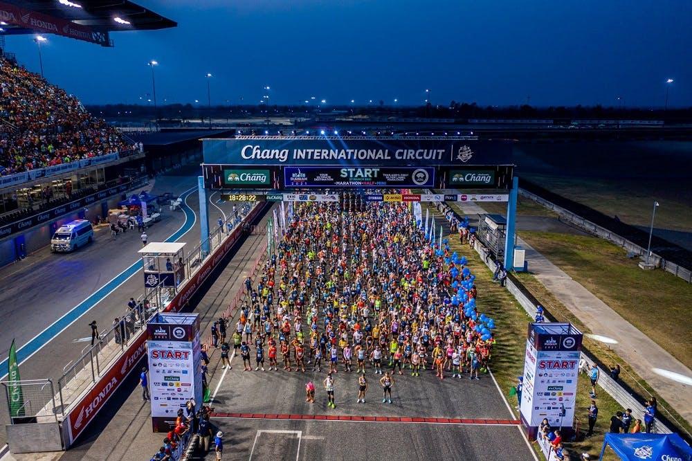 Η Ταϊλάνδη δίνει το σύνθημα με Marathon event με πάνω από 18.000 δρομείς!