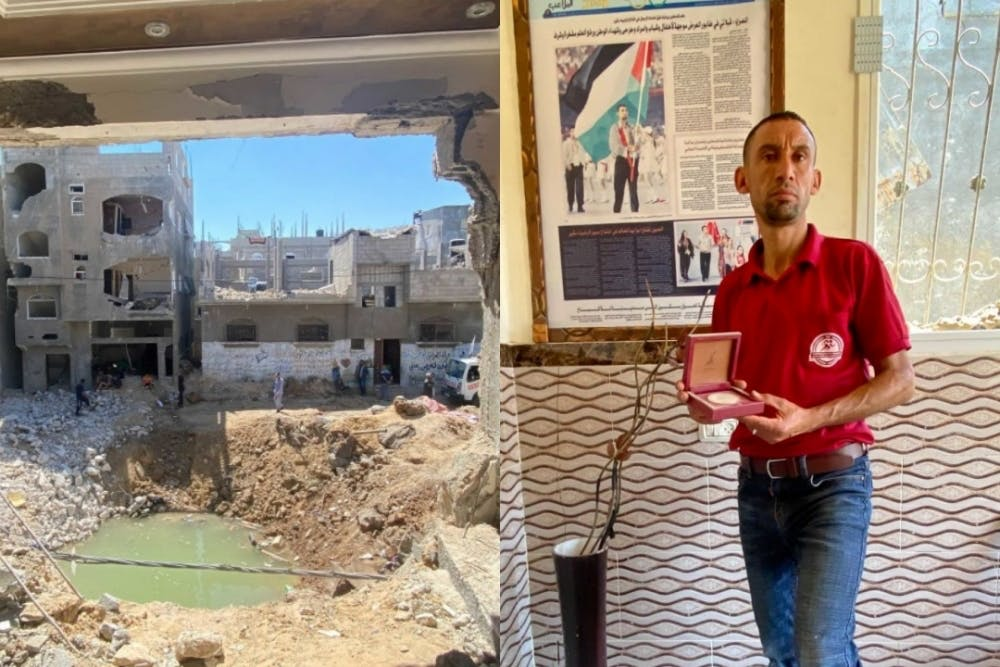 Βομβάρδισαν το σπίτι του Παλαιστίνιου δρομέα των Ολυμπιακών Nader Al Masri