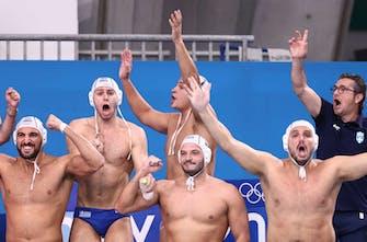 Στο βάθρο η Εθνική πόλο, νίκησε 9-6 την Ουγγαρία και προκρίθηκε στον τελικό