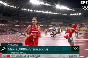 Μεγάλος νικητής στα 3.000μ. στιπλ ο Μαροκινός El Bakkali, σταμάτησε την κυριαρχία των Κενυατών
