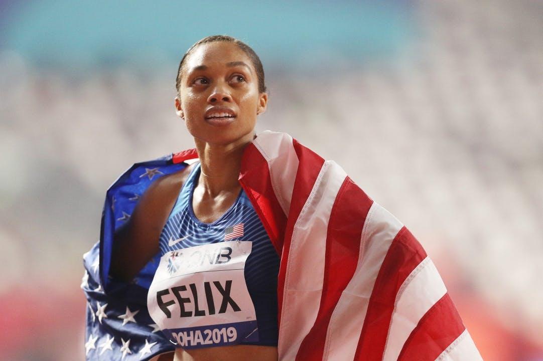 Allyson Felix: Η θρυλική δρομέας των ΗΠΑ που υποστηρίζει τις γυναίκες και το μεγάλο Ολυμπιακό όνειρο στα 35 της