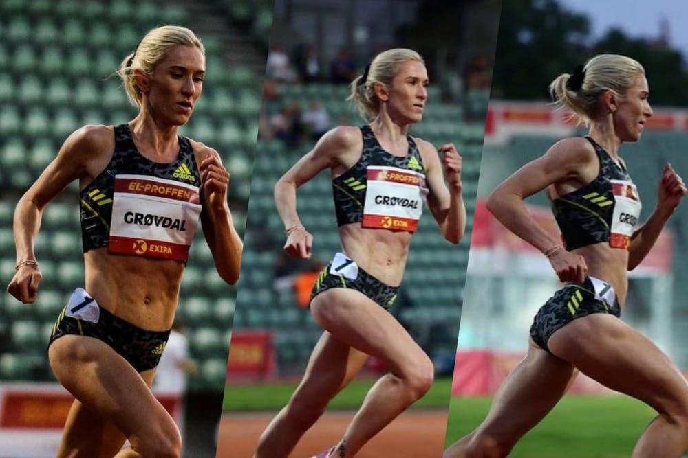Τρία προσωπικά ρεκόρ σε τρεις διαφορετικές αποστάσεις σε μία σεζόν για την Grøvdal!