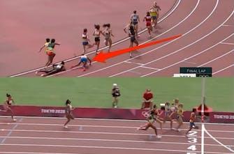 S. Hassan: Έπεσε στην τελευταία στροφή, σηκώθηκε και κέρδισε τρέχοντας το 300αρι σε 43΄΄!