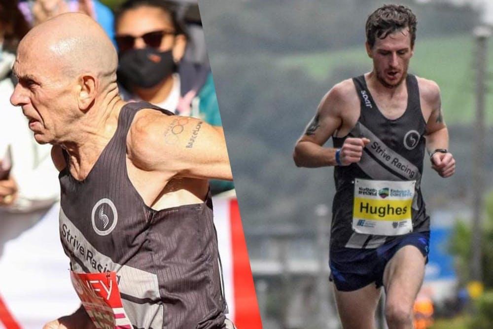 Το μήλο κάτω από τη… μηλιά: Ο Tommy Hughes έτρεξε στο Λονδίνο μαζί με τον γιο του, Eoin