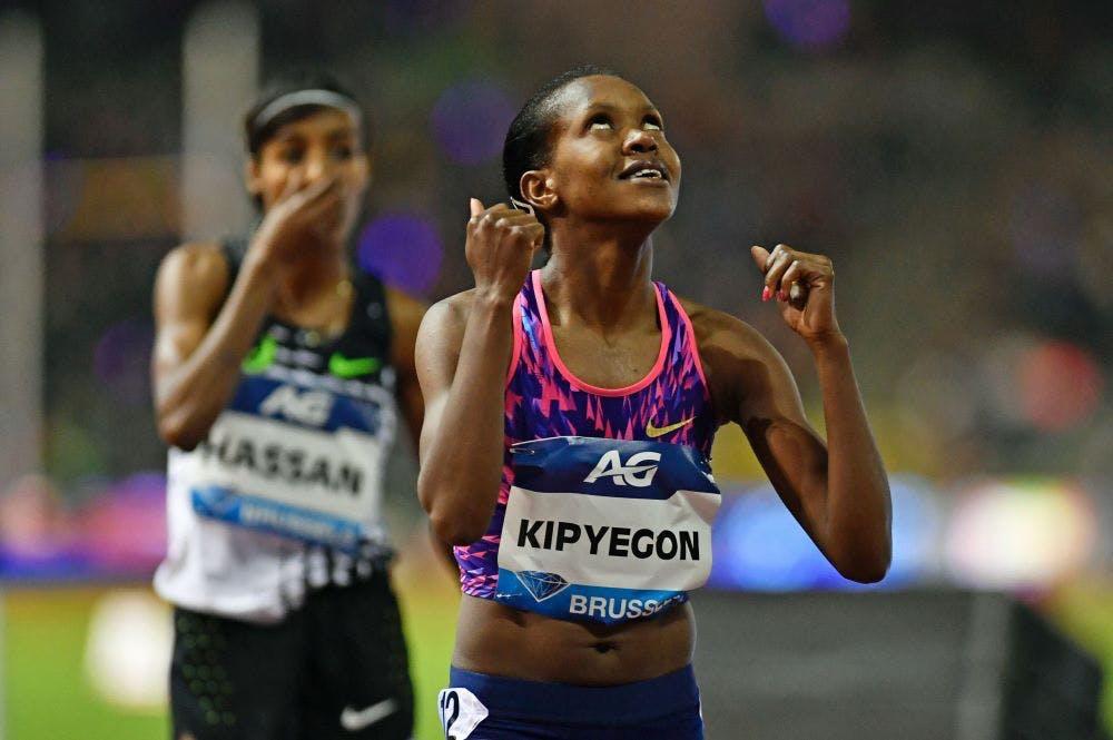 Μεγάλη μάχη μεταξύ Hassan και Kipyegon με νικήτρια την τελευταία (vid)